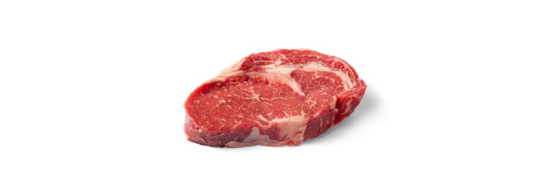 Стейк из мраморной говядины